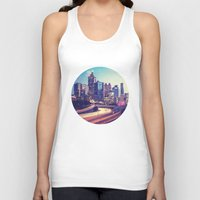 atlanta Tank Tops featuring Atlanta Downtown by GF Fine Art Photography