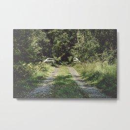 Country Road Take Me Home Metal Print
