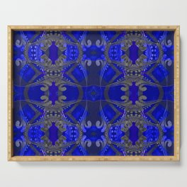 Boujee Boho Harmonic Indigo Color Therapy Serving Tray