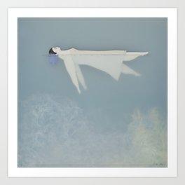 Afloat (Water Woman X) Art Print