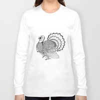 turkey Long Sleeve T-shirts featuring Turkey by Martin Stolpe Margenberg