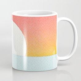 Sunset Watercolor Coffee Mug