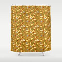 Tacos & Burritos Shower Curtain
