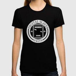 Digital Slaves Unite T-shirt