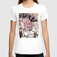 vonnegut T-shirts featuring Kurt Vonnegut Portrait by Karl Frey