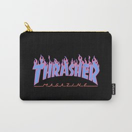 Thrasher Blue Carry-All Pouch