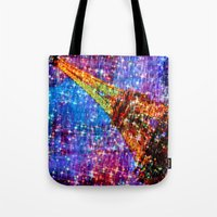 eiffel Tote Bags featuring Eiffel by haroulita