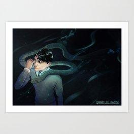 The Heir of Slytherin Art Print