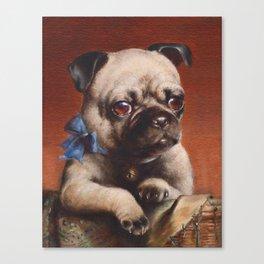 The Pug - Carl Reichert Canvas Print