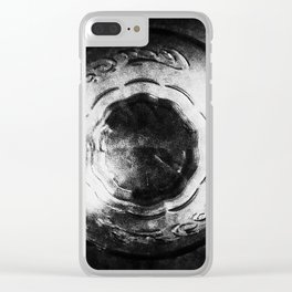 Alien Behind the Glass -Bigger Clear iPhone Case