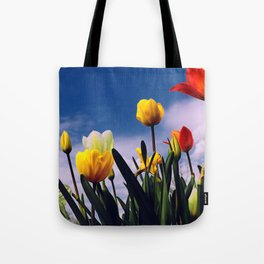 Relax With The Tulips Tote Bag