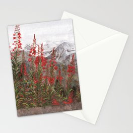 French Alps  Stationery Cards
