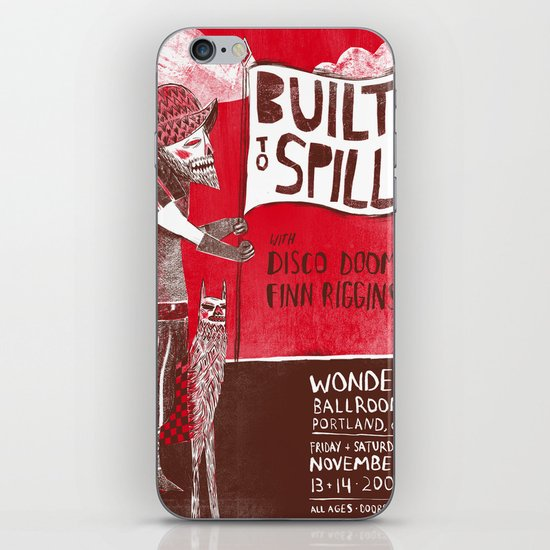 Built to Spill - Wonder Ballroom, Portland iPhone & iPod Skin