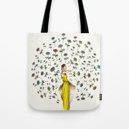 Paris Summer | The Flower Girl Tote Bag