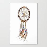 dreamcatcher Canvas Prints featuring Dreamcatcher by Bruce Stanfield