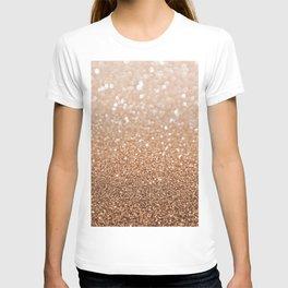 Copper Shiny Powder Texure T-shirt