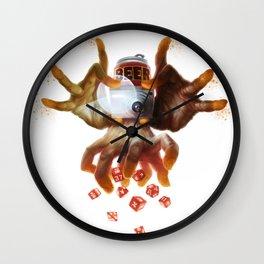 The Human Wall Clock