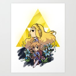Breath of the Wild Art Print