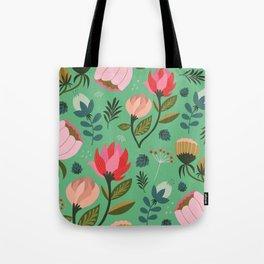 Pretty Florals Tote Bag