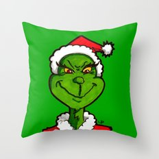 How Grinchy! Throw Pillow