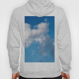 Dreaming floating candy on blue Hoody