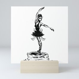 Dance Your Heart Out Mini Art Print