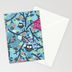 Owls. Stationery Cards