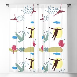Learn To fly Blackout Curtain