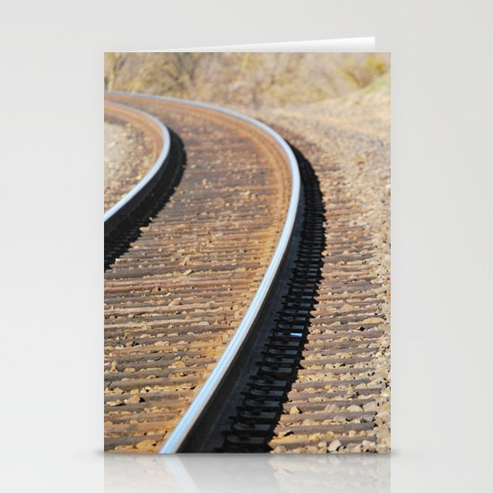 Tracks Stationery Cards