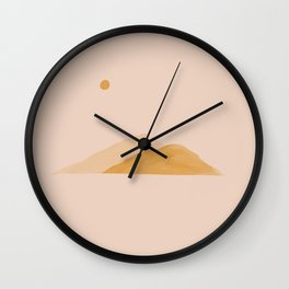 In A land Where Hope Flows Freely. Wall Clock