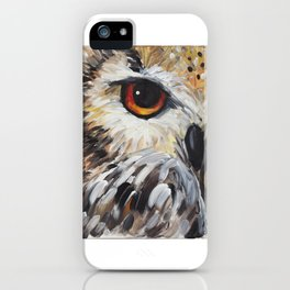 Owl Be Watching iPhone Case
