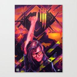 Skrill EX Canvas Print