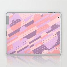 Sweet Heart Pattern (Pastel Coral Pink, Lavender) Laptop & iPad Skin