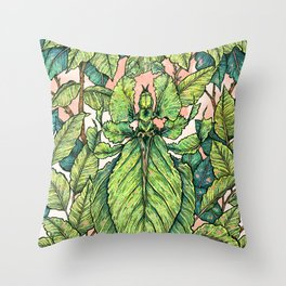 Leaf Mimic Throw Pillow