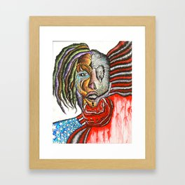 AMAZING DISGRACE Framed Art Print