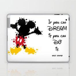 Mickey Mouse Paint Splat Magic Laptop & iPad Skin