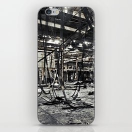 Abandon Battery Factory iPhone Skin