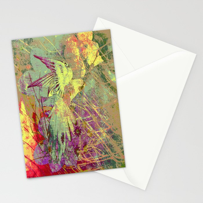 Parrot. On Front Page. Stationery Cards