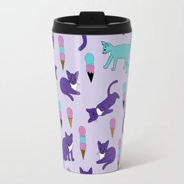 Cats and Ice Cream Travel Mug