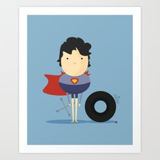 My Super hero! Art Print