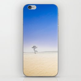 Lonely in wideness iPhone Skin