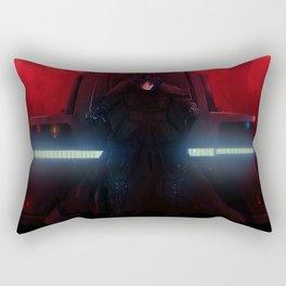 Defeated Rectangular Pillow