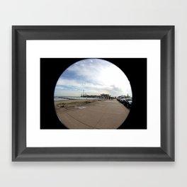 Pleasure Pier Framed Art Print