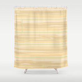 Pale Wood Background Shower Curtain