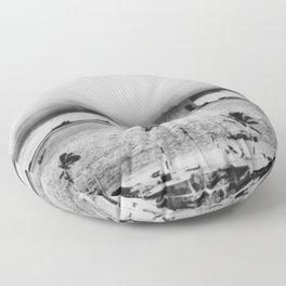 Atomic Bomb Mushroom Cloud Operation Crossroads Baker Test Floor Pillow