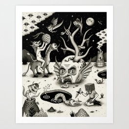 The Ways of the Wicked Art Print