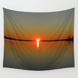 Pregnant Pause of a Downeast Evening Wall Tapestry