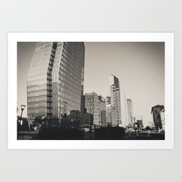 Skyscrapers in the center of Milan Art Print