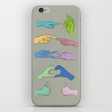 All Hands iPhone & iPod Skin