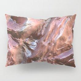 Wet Metal Structure Pillow Sham